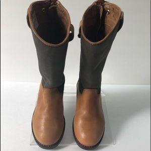 Ralph Lauren Kids Leather High Boots